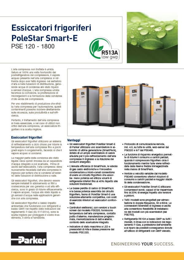 essiccatori frigoriferi pse 120 1800 r513a low gwp