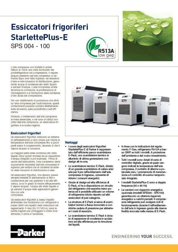 essiccatori frigoriferi sps 004 100 r513a low gwp