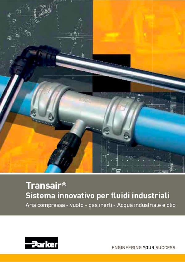 parker legris transair reti di distribuzione fluidi industriali